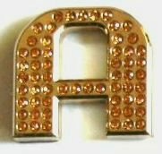Crystal Letters GOLD 1.2""